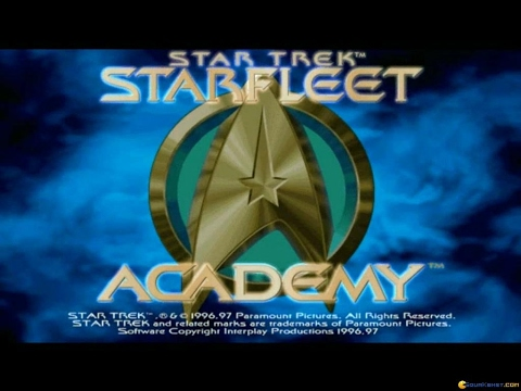 Star Trek: Starfleet Academy gameplay (PC Game, 1997)