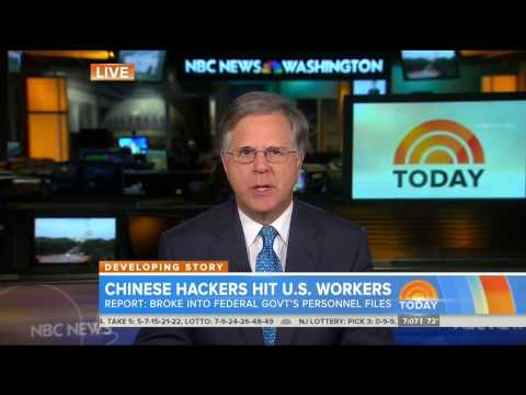NBC: Chinese hackers attack computers storing federal employee info