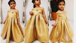Download Video Beautiful flare dress for kids / DIY MP3 3GP MP4