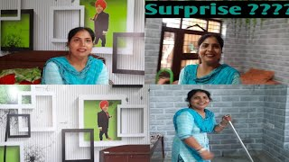||😀Today I am very happy|| 💞New Room Decoration🏕|| punjabi cooking and punjabi