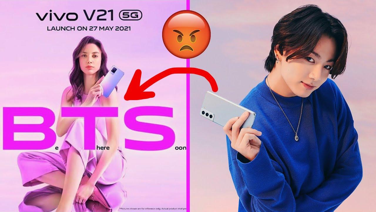 الصين سرقوا شهرة بي تي اس😱Vivo stolen BTS #shorts