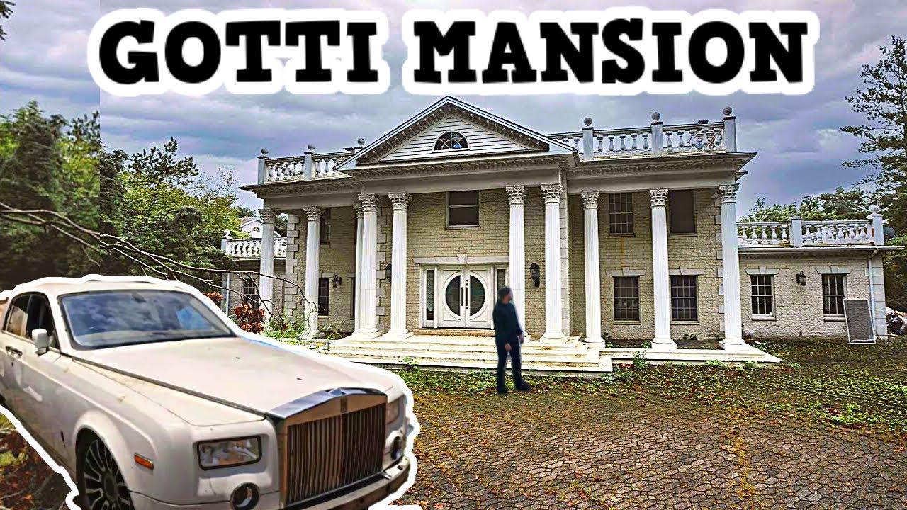 Download MAFIA BOSS JOHN GOTTI'S ABANDONED MANSION (FOUND SECRET ROOM/CARS)