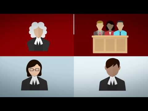 What happens when a criminal case goes to court