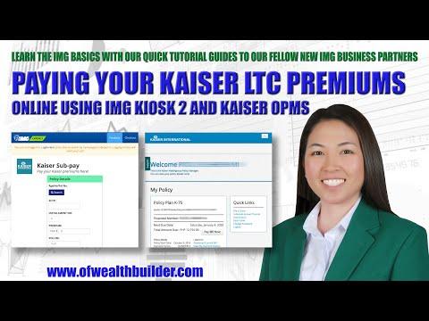 How to Pay Kaiser? IMG Basic Tutorials