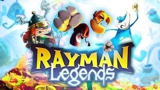 Rayman Legends #09 Co-Op - W Olimpus Maximus w/ Chucky