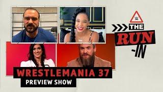 Run-In WrestleMania 프리뷰 쇼! 일년 중 가장 큰 이틀 밤을 준비하세요