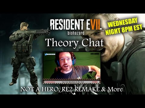 RESIDENT EVIL 7 NOT A HERO | Theory Chat & LIVE Discussion (Replay)