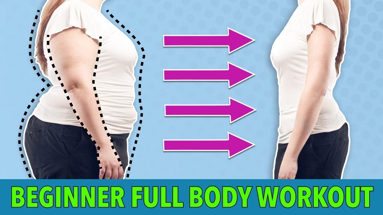 20 MIN BEGINNER FULL BODY EXERCISES AT HOME