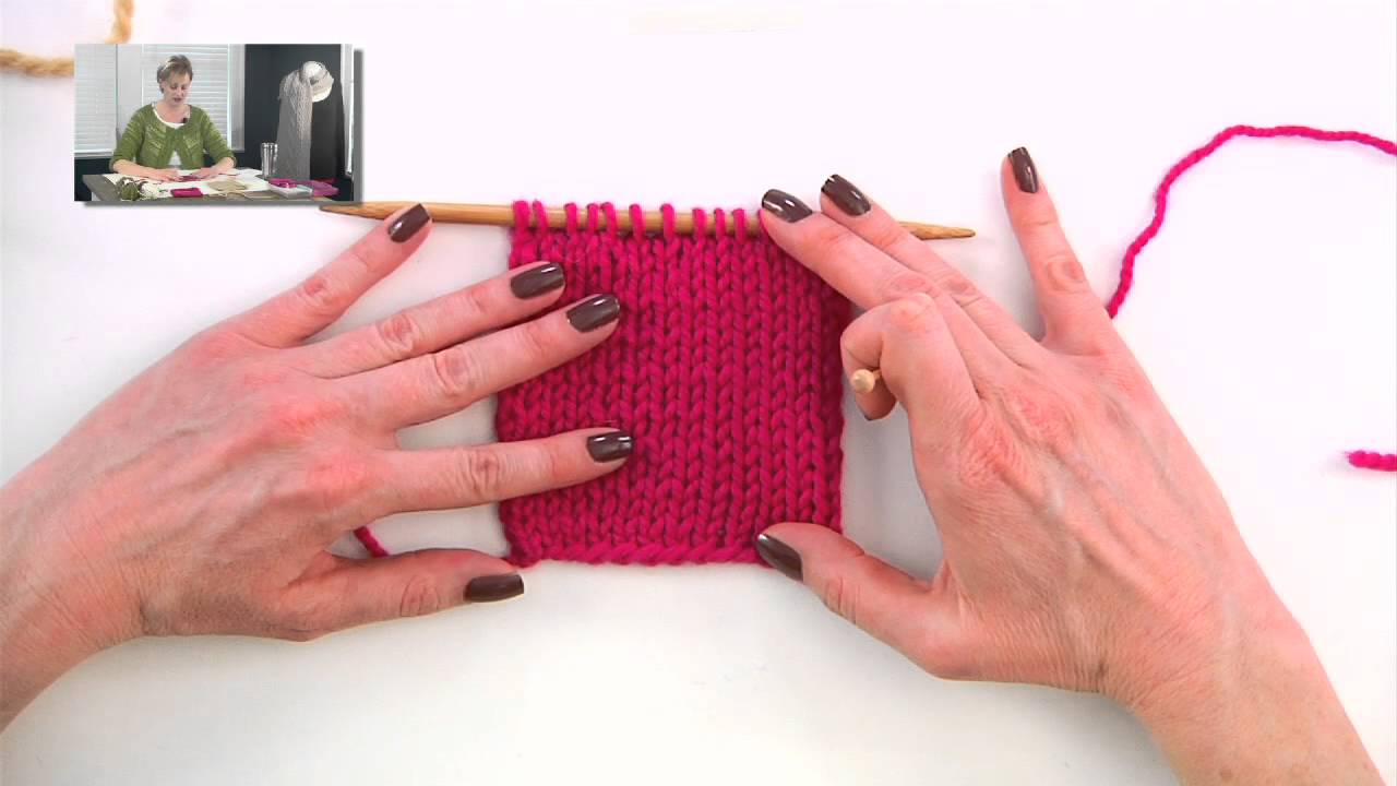 Knitting Help Reading Your Knitting And Using A Row Counter Youtube
