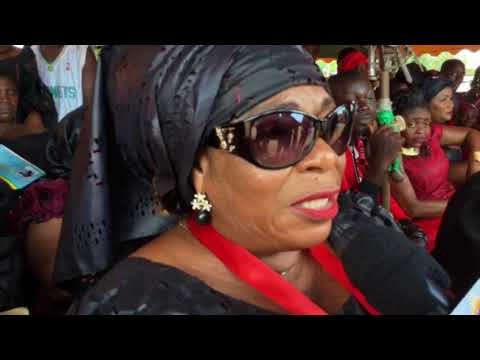 MAMA LEE OF OSOFO DADZIE GROUP AT SUPER OD'S FUNERAL