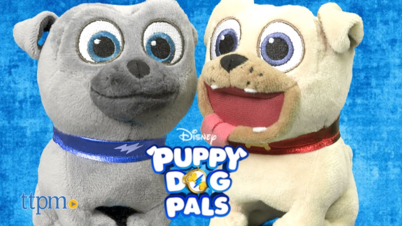 Puppy Dog Pals Pet And Talk Pals Rolly Bingo From Just Play Youtube