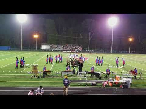 "Lenape Valley Regional marching band "" The Witching Hour "" 2017 show"