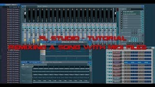Fl Studio - Tutorial - Remixing a Song With Midi Files