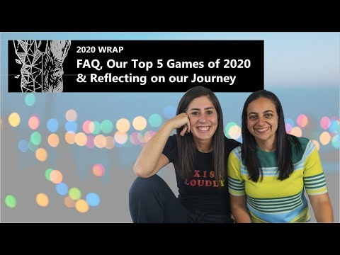 ThinkerThemer 2020 Wrap: FAQ, Our Top 5 Board Games of 2020 & Our Channel Journey (So Far!)