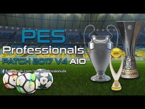 PES PROFESSIONALS PATCH V4 PES 2017 DOWNLOAD