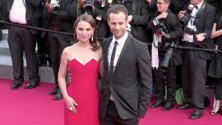 Natalie Portman and husband Benjamin Millepied at the opening ceremony of the Cannes Film Festival