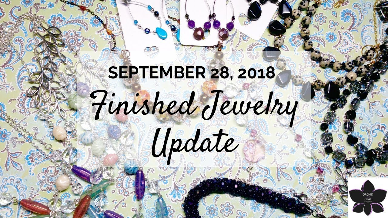 Download Finished Jewelry Update | Beading Project Share 2 -Sep. 2018