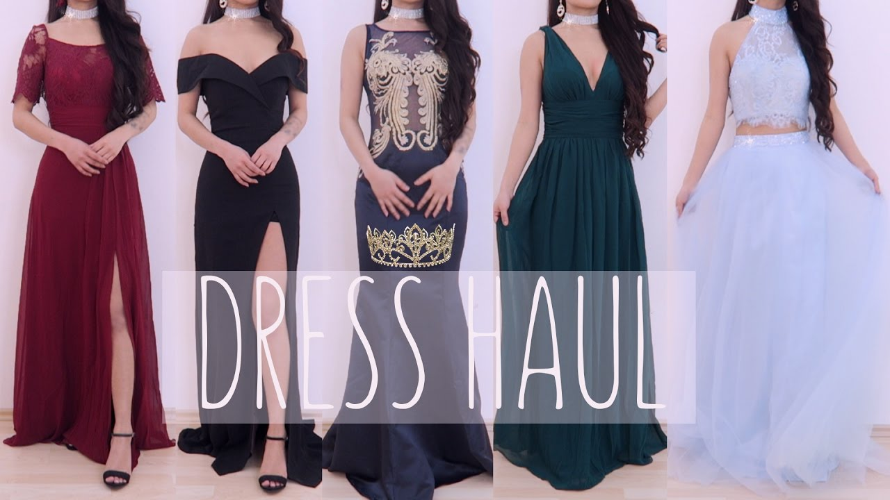 ec42c3567 👸🏻 Prom Dress Gown Try-on haul 2017 ll Ever-pretty ll ...