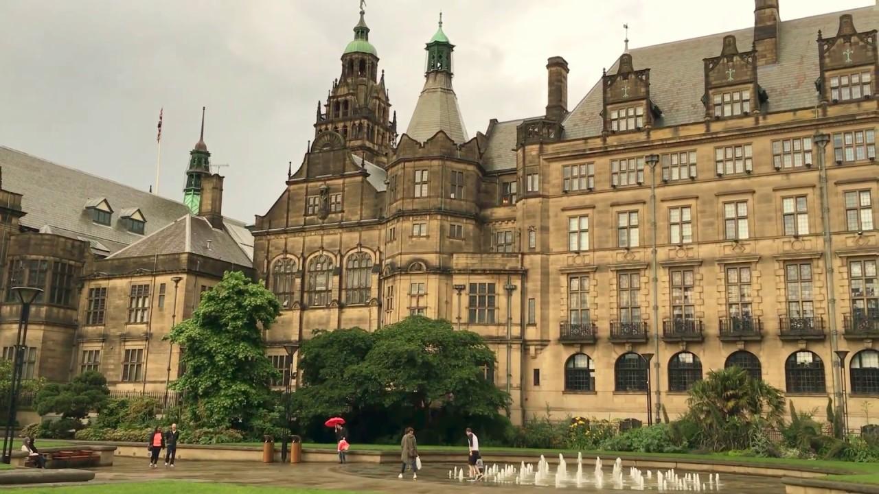 Sheffield Landmark Peace Gardens - YouTube