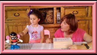 🐾 Pазвитие ребенка. Французский язык для малышей: 5-ый урок с Алис: части тела