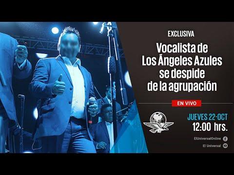 Vocalista de Los Ángeles Azules se despide de la agrupación