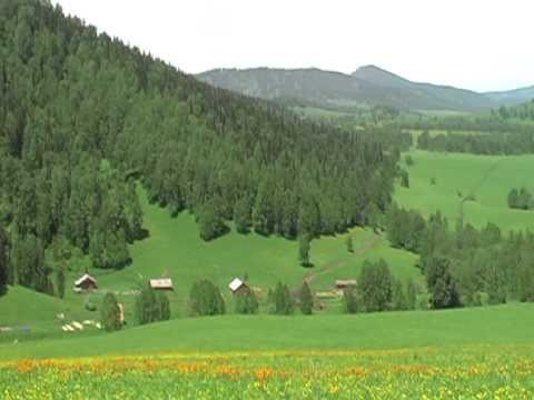 Отдых.Горный Алтай в июне