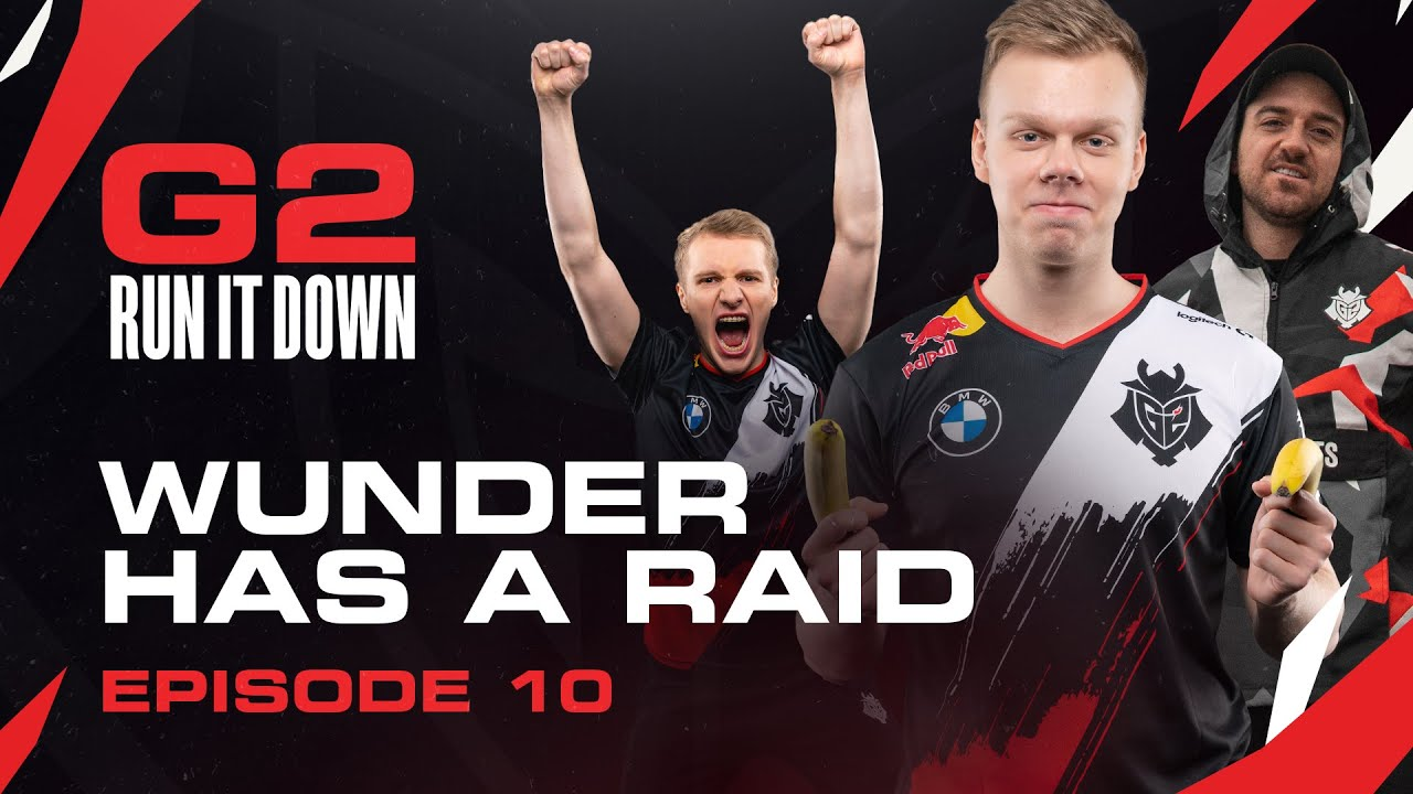 G2 Run It Down With Jankos and Wunder | Wunder has a Raid