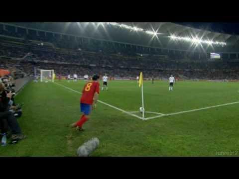 Deutschland / Spanien WM 2010 Tor Carles Puyol 0-1 HD ...