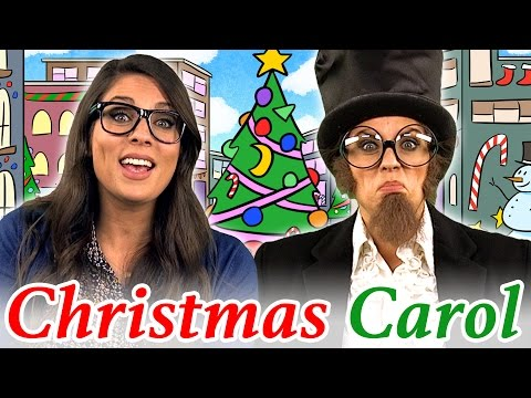 A Christmas Carol Story | Story Time with Ms. Booksy at Cool School