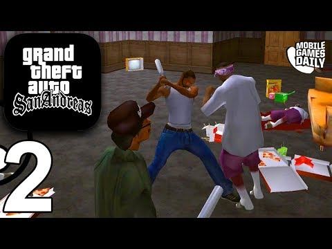 GRAND THEFT AUTO San Andreas Mobile - Gameplay Story Walkthrough Part 2 (iOS Android)
