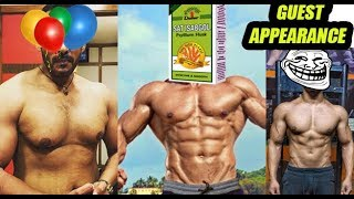 LEGENDS OF FITNESS YOU-TUBERS ft. Sahil Khan, Tarun Gill & Guest appearance Rohit Khatri