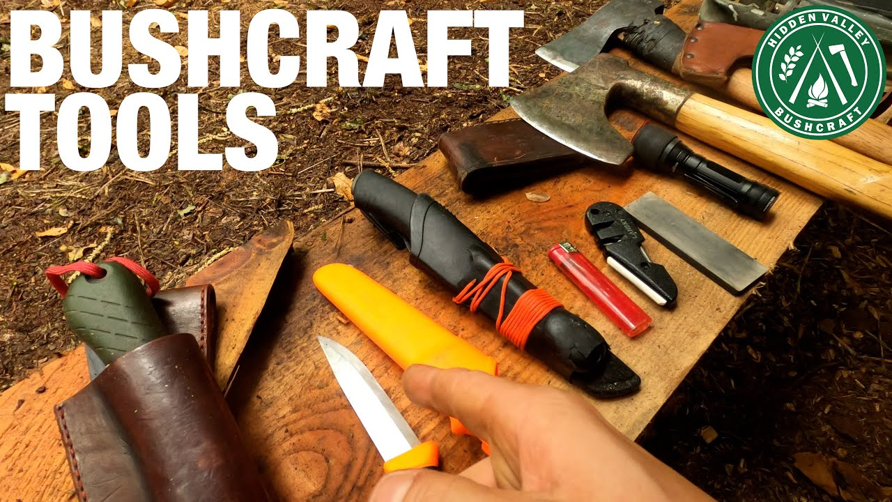 Basic Beginner Bushcraft Tools 2021 - What you need to get started.