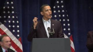 President Obama Speaks to the Democratic Party
