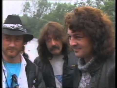 Deep Purple's TV appearance June 1985 with Interviews from Knebworth 1985