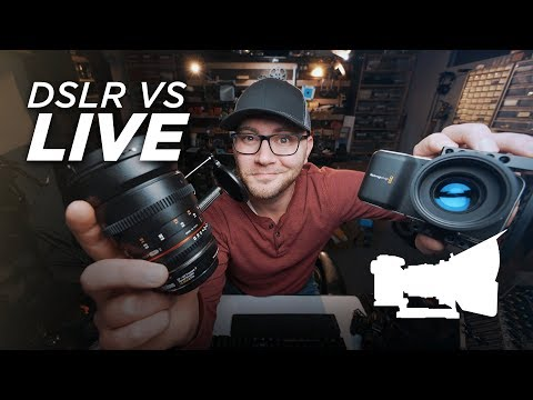 DSLR VS LIVE! - NAB Chat Plus Q&A!