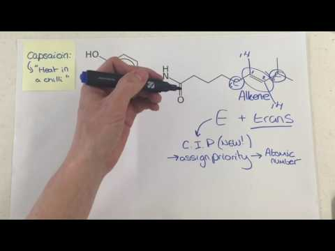 Capsaicin / year 1 and 2 / linear OCR A chemistry