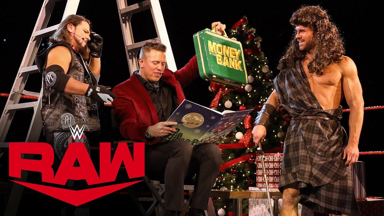 "The Miz, AJ Styles and John Morrison present ""The Nightmare Before TLC"": Raw, Dec. 14, 2020"
