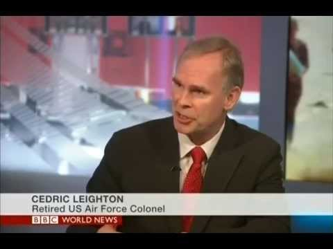 Annie Jennings PR Publicity Client, Col. Cedric Leighton (Ret.) On BBC World News