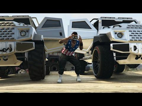 GTA 5 Online [PS4] - Matando Players Sessão Pública ( KroZ - Ela (JHEF My House Prod.)