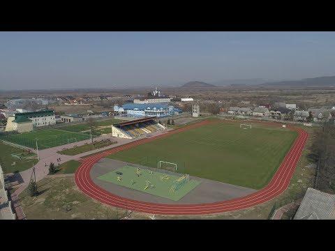У Тячеві завершують облаштування нового стадіону