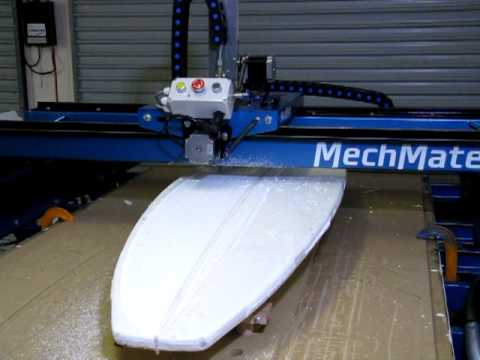 surf board machine