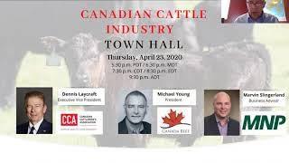 Canadian Cattle Industry Town Hall