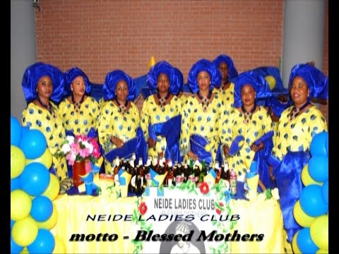 The launching of Neide Ladies Club of Italy.