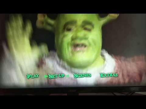 Shrek the musical DVD menu walkthrough