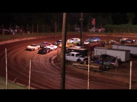 Winder Barrow Speedway Stock 4 Cylinders B's Feature Race 8/17/19
