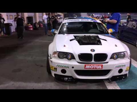 BEAST! Bmw E46 V10 S85 Drift, Burnout ,flames , Screaming Like F1