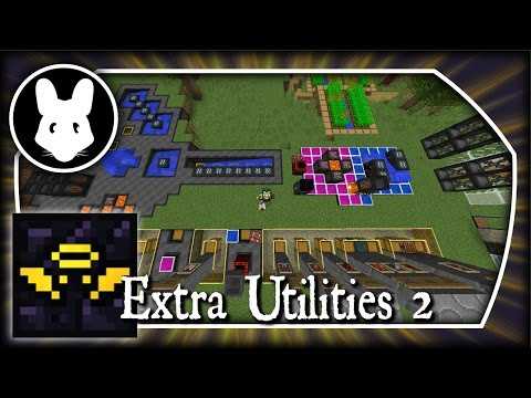 Extra Utilities 2: Getting more Grid Power! Part 2 - Minecraft 1.10