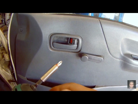 Repeat Jeff tan tutorial / toyota hiace / stereo panel removal by