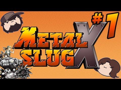 Metal Slug X: Heavy Machine Gun - PART 1 - Game Grumps