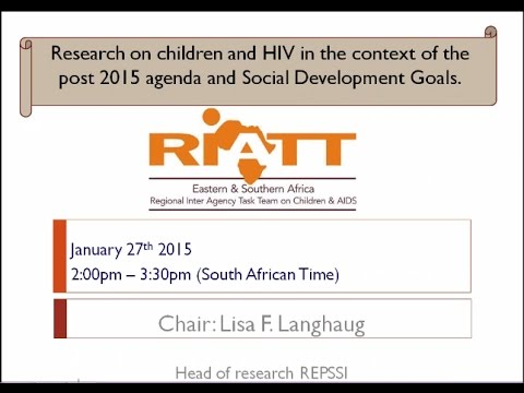 Investigate ways forward for research on children and HIV